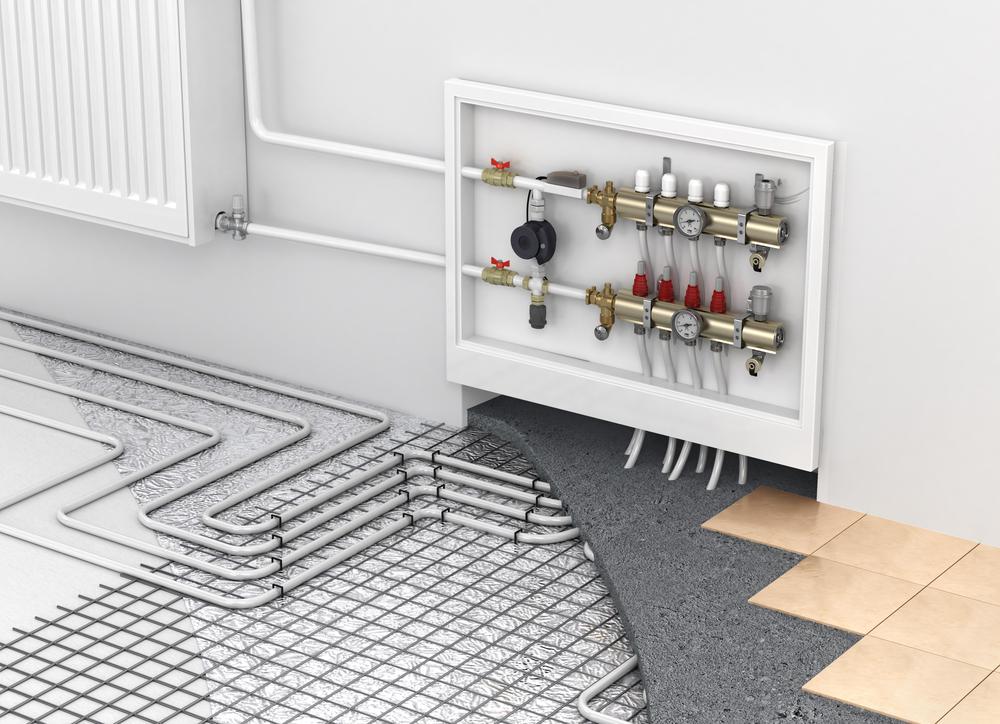 mantenimiento de calefacción radiante