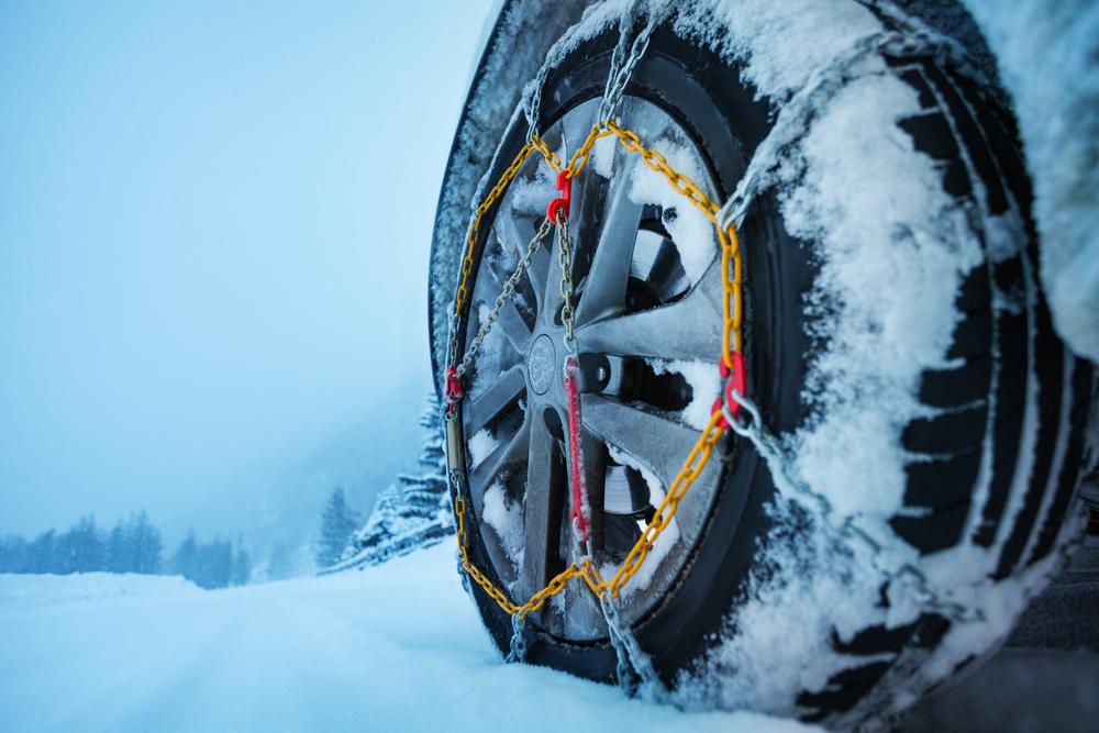 Tipos de cadenas de nieve y sus características | ¿Cuál es mejor?