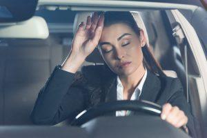 ¿Cuándo aparece la somnolencia durante la conducción?