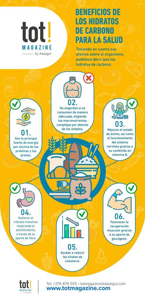 beneficios de los hidratos de carbono para tu salud