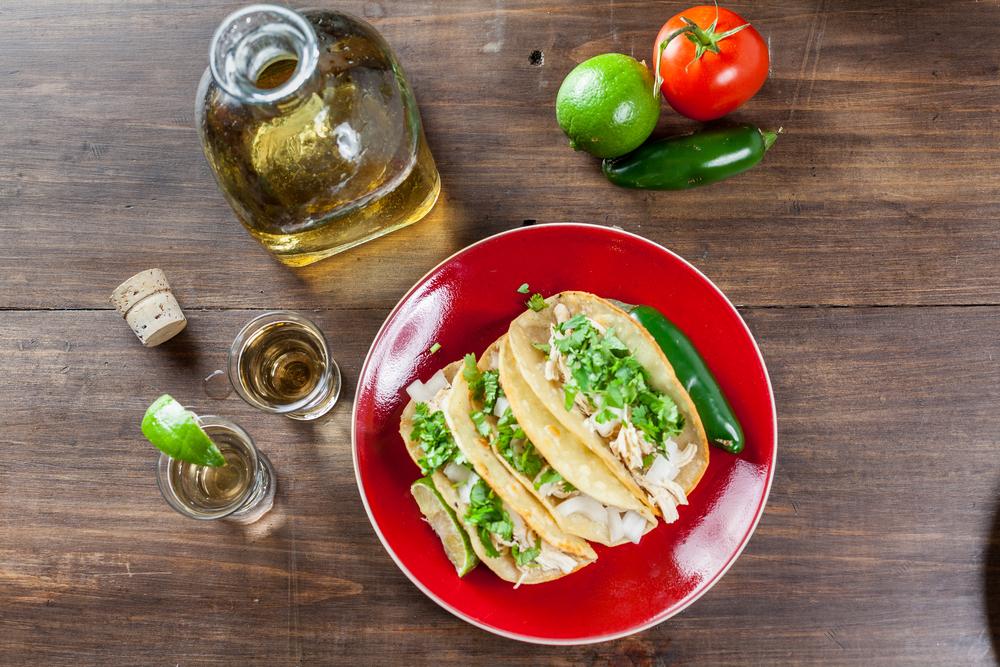 receta tacos de pollo y lima