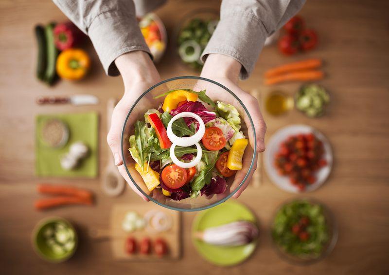 Beneficis d'una dieta vegetariana per la salut
